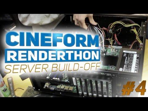 BUILD TIME! // Cineform Renderthon Server Build-Off // Episode 4