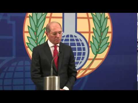 OPCW Press Conference on the last consignment of chemicals leaving Syria