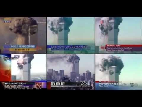 11 septembre 2001 WTC 9/11 - Multiplex 11-Septembre 08H48 - 09H03 EDT [HD]