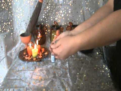 Samhain/Halloween Ancestor Spirit Candle