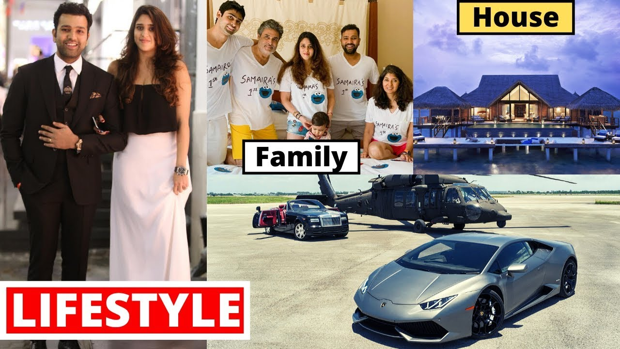 Rohit Sharma Lifestyle 2020, House, Cars, Family, Biography, Net Worth, Records, Career & Income