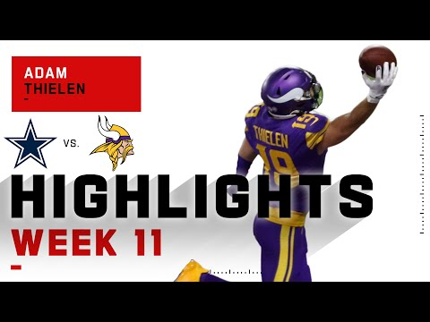 [Highlight]Adam Thielen Is ELITE like Joe Flacco