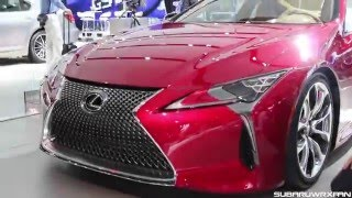 2017 Lexus LC 500 Sound, Walkaround and Discussion!