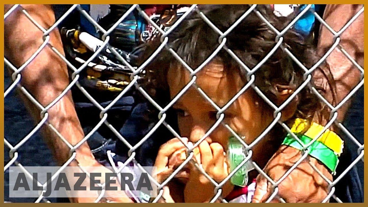 AlJazeera English:US expands migrant detention space along Mexico border