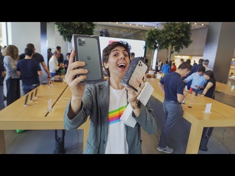 I BOUGHT THE NEW iPHONE 11 PRO and APPLE WATCH SERIES 5!