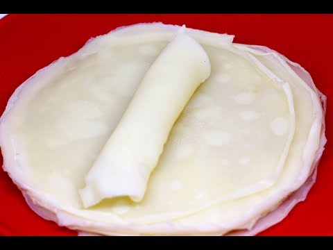 Spring Roll Wrappers | Home Made Spring Roll Wrapper | Madhuras Recipe | Ep - 651