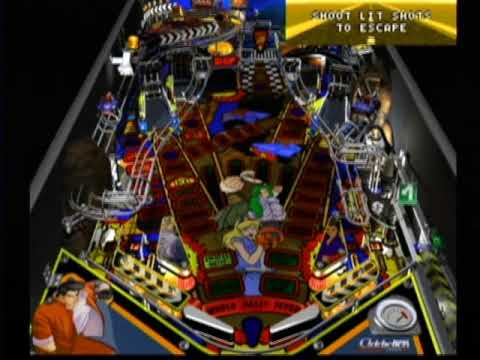 Unreleased - Worms Pinball (Dreamcast, 2000) Gameplay Movie 2: World Rally Fever