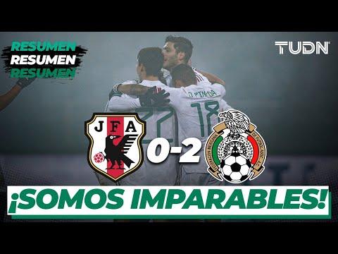 Resumen y goles | Japón 0-2 México | Amistoso 2020 | TUDN