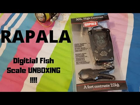 Rapala Digital Fish Scale UNBOXING ...!!!