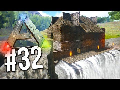 Ark Survival Evolved - EPIC WATERFALL BASE! (ARK: Survival Evolved)