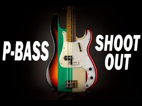 Precision Bass shootout - 19 instruments