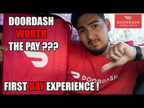 First Day Delivering With Door Dash!! How Much Did I Make?? Door Dash Worth Trying?!?!