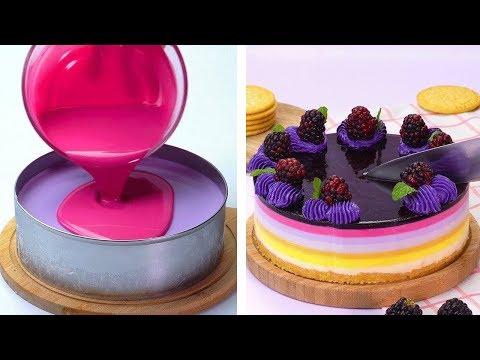 Most Satisfying Cake Decorating Ideas Compilation |  DIY Cake Hacks | Cake Decorating Ideas