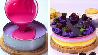 Most Satisfying Cake Decorating Ideas Compilation | 🌏 DIY Cake Hacks | Cake Decorating Ideas