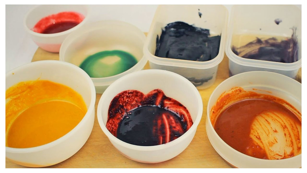 Lebensmittelfarben Selber Machen Diy Regenbogenfarben Youtube