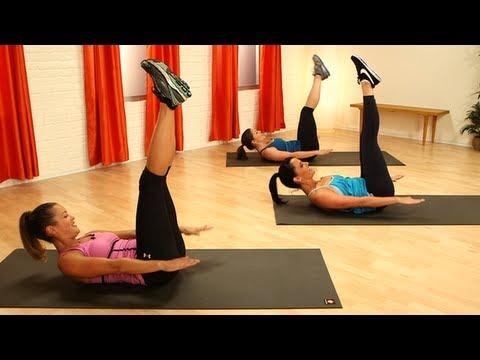 Pilates Ab Workout, Define Your Waistline, Class FitSugar