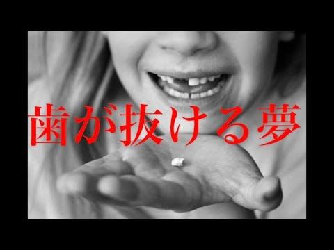 [夢に怖い話]歯が抜ける夢夢の中で歯を