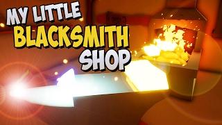My Little Blacksmith Shop German Gameplay - Meisterschmied KeysJore