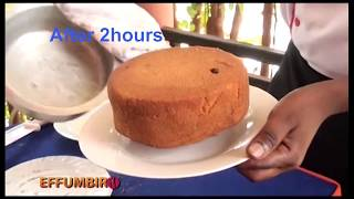 how to bake cake on sand without oven