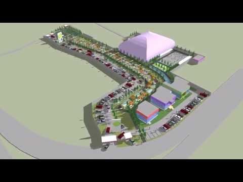 Site Plan Sport Center
