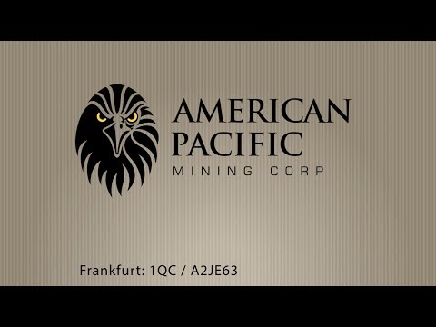 American Pacific Mining Corp. - Goldmining in Nevada