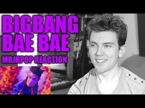 BIGBANG BAE BAE Reaction / Review - MRJKPOP ( 빅뱅 )