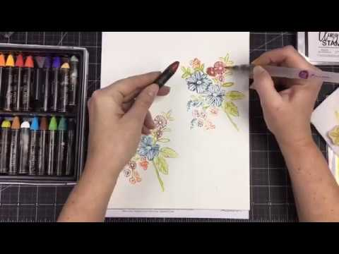 March Color Madness-Oil Pastel Tutorial on Facebook Live