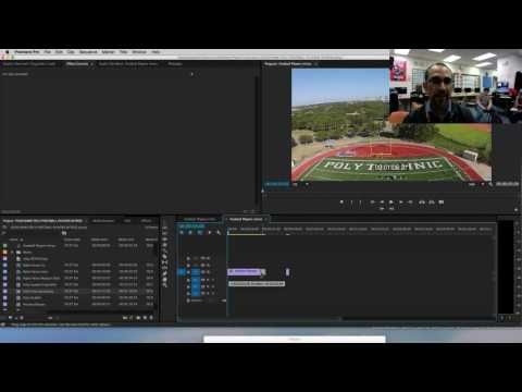 Poly Football Intros Tutorial in Adobe Premiere