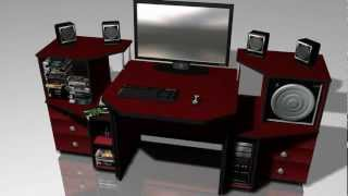 Computer Desk - Animation
