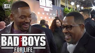 Bad Boys for Life (Bad Boys 3) - Will Smith & Martin Lawrence Premiere Interview