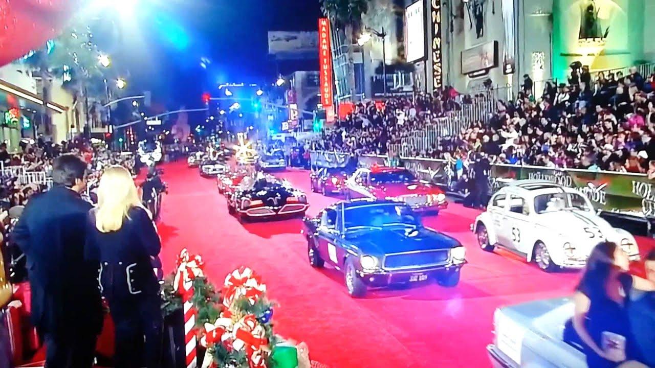 Hollywood Christmas Parade 2013 Star Cars - YouTube