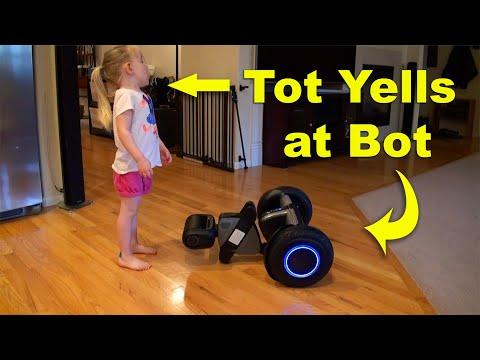 Loomo Segway Robot Unboxing, Setup & Demo