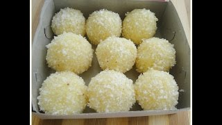 Coconut Ladoo -Diwali Sweet Recipe- chinnuz' I Love My Kerala Food