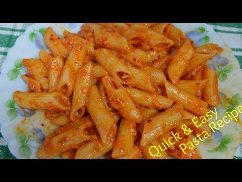 Pasta Recipe   Quick & Easy Indian Style Pasta Recipe   Kids Lunch Box