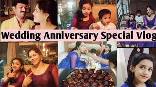 Wedding Anniversary Special Vlog||Hubby's Surprise Gift On Anniversary|Photo Shoot||indur creations