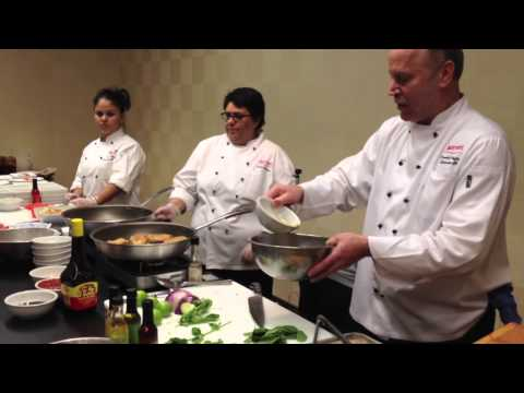 Cottonseed Oil Cooking Demonstration