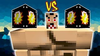 HOMEM FORTÃO VS. SUPER LUCKY BLOCK (MINECRAFT LUCKY BLOCK CHALLENGE TOUGH GUY)