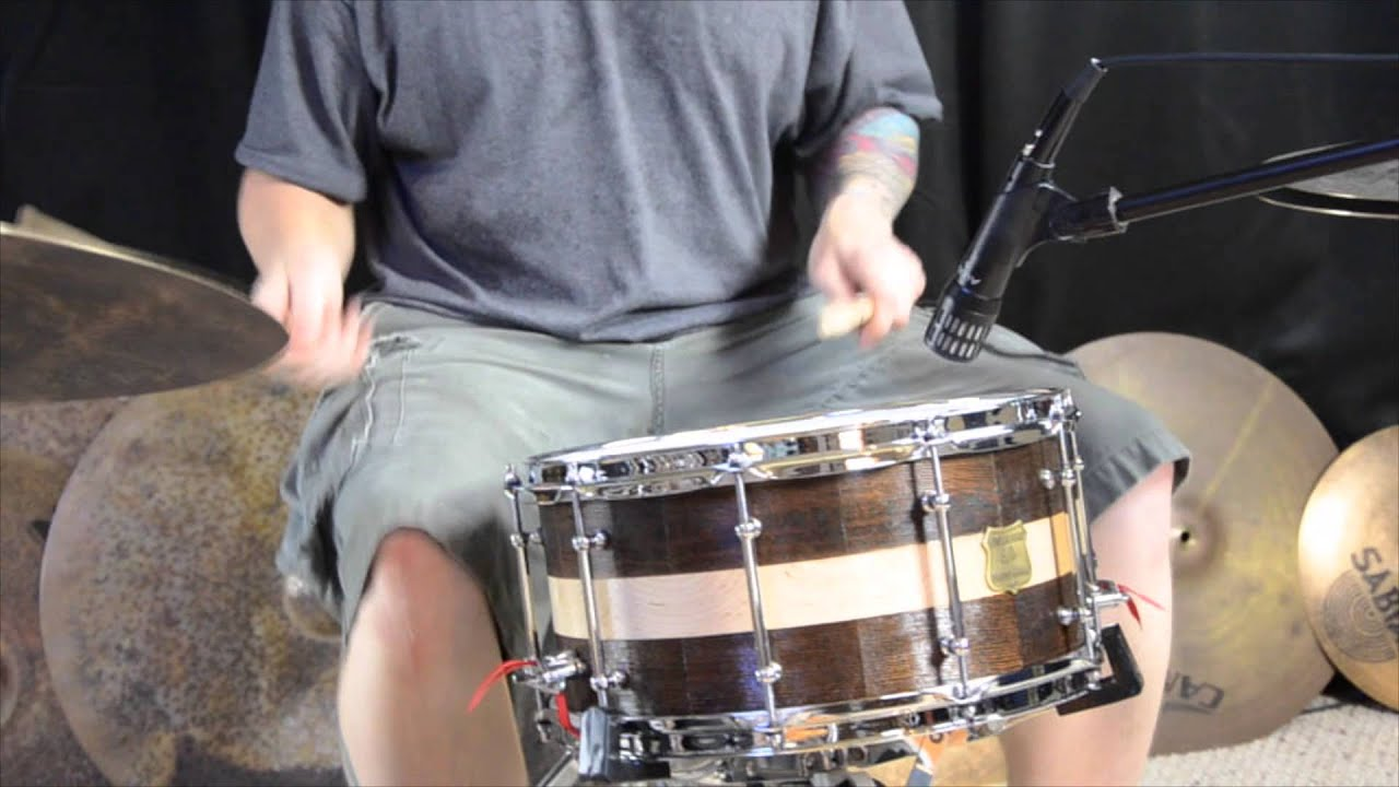 old fir maple snare drum sound file youtube