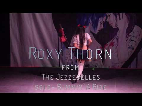 Roxy Thorn of The Jezzebelles.