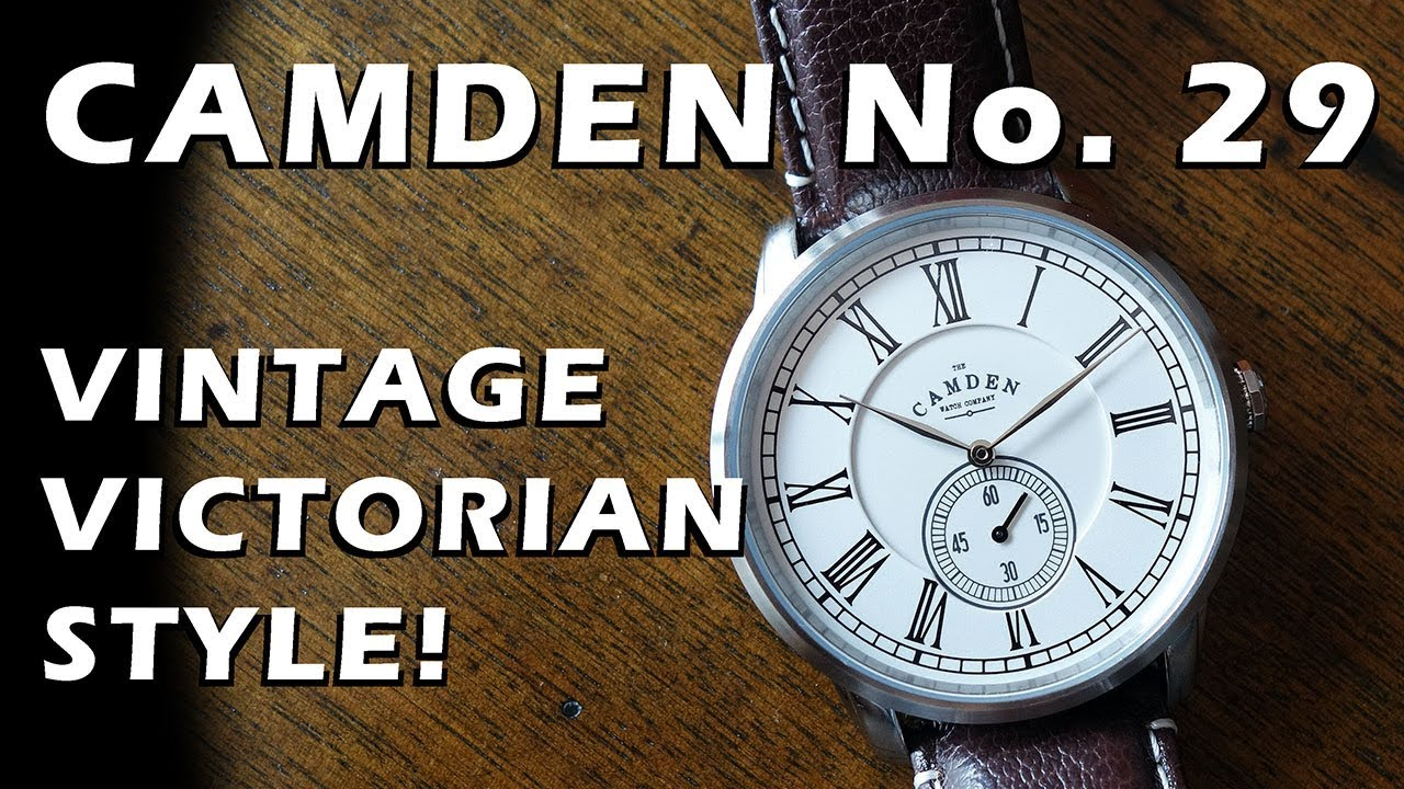 81237eb6e Camden No. 29 Unboxing & Review - Vintage Pocket Watch Style from ...