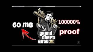 download gta 3 on android in 60 MB