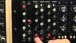 Rick Beato demonstrating Great River PWM-501 and 32EQ