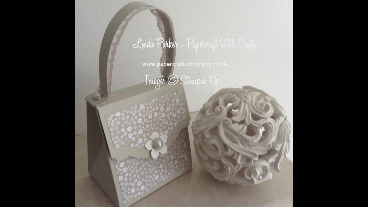Handbag Gift Box Tutorial Youtube