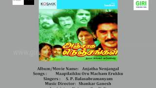 01 Maapilaikku Oru Macham Erukku - Malaysia Vasudevan-Vairamuthu-Anjatha Nenjangal-Tamil