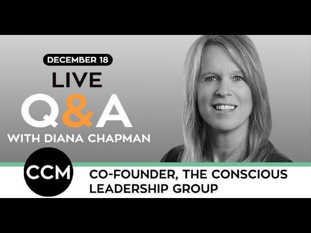 LIVE Q&A | Diana Chapman