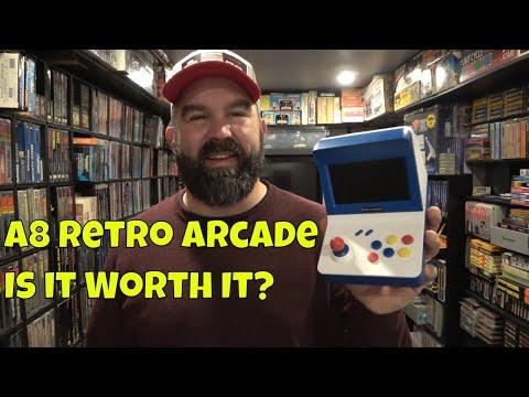 A8 Retro Arcade:  Nintendo, Sega, & More...Is This Clone Worth It?