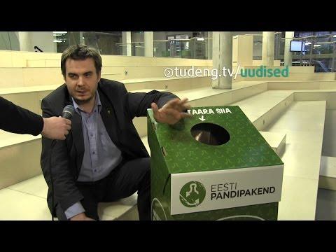 Tallinna Ülikooli kampusesse jõudsid pandipakendikastid | Uudised