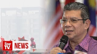 Cabinet to discuss next course of action to tackle haze issue, says Saifuddin