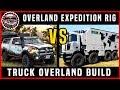 "Expedition Overland vs ""Burst"" Overland truck builds | Vlog 21 | Gear Into Adventure Overland"