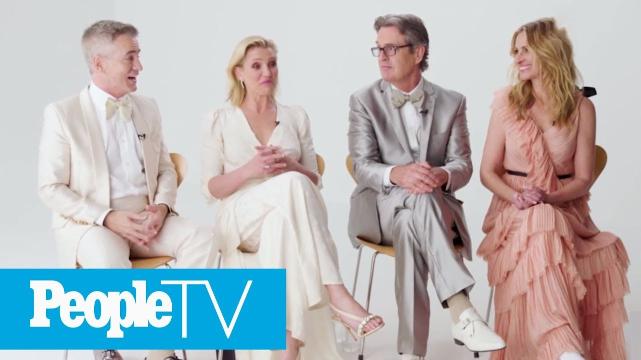 The Cast Of 'My Best Friend's Wedding' Look Back On The 'I Say A Little Prayer' Scene | PeopleTV